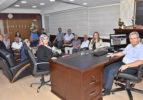 AK Parti İlçe Teşkilatından Başkan Şevkan'a Ziyaret