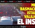 Melike Basmacı'dan İstanbul Valiliği'ne; El İnsaf