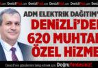 ADM Elektrik Dağıtım'dan Muhtarlara Özel Hizmet