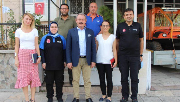 afad4 740x420 - AK Partili Şahin Tin, AFAD il Müdürlüğünü ziyaret etti.