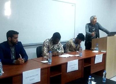 PAÜ'de Afrika Ülkeleri Tanıtımı Konferansı Yapıldı