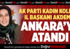 AK Parti Kadın Kolları İl Başkanı Akdemir, Ankara'ya Atandı