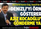 AK Partili Dağ'dan Aziz Kocaoğlu'na Gönderme