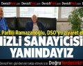 AK Partili Ramazanoğlu'ndan DSO'ya ziyaret