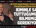 AK Partili Sorgun, terör örgütlerinin 'hayır'ı desteklediğini öne sürdü