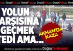 Akhan'da Kaza: 1 Yaralı