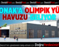 9'uncu kapalı yüzme havuzu Akkonak'a yapılacak