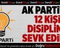 Denizli'de AK Parti'den 12 ihraç istemi