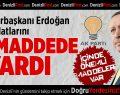 Cumhurbaşkanı Erdoğan İl Teşkilatlarını 10 Maddede Uyardı