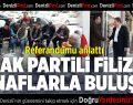 AK Partili Filiz Esnaflarla Buluştu Referandumu Anlattı