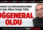 Albay Cengiz Yıldız Tuğgeneralliğe Terfi Etti