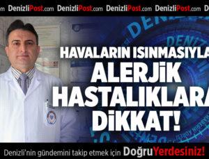 HAVALARIN ISINMASIYLA ALERJİK HASTALIKLARA DİKKAT!