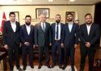 Alperen Ocakları'ndan Başkan Zolan'a ziyaret
