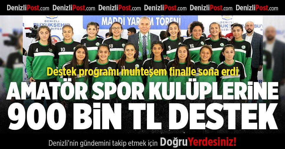 Büyükşehir'den 97 Amatör Spor kulübüne 900 Bin TL Destek
