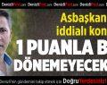 Denizlispor'da Es Es Resti
