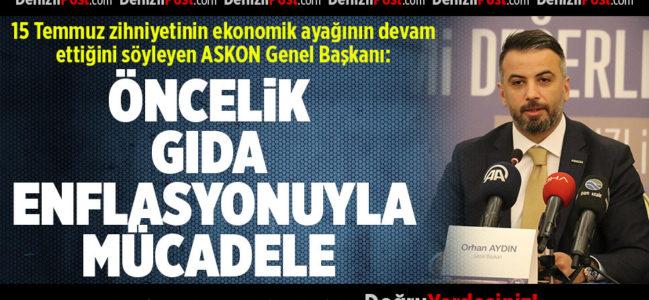 ASKON Genel Başkanı: 15 Temmuz zihniyetinin ekonomik ayağı devam ediyor
