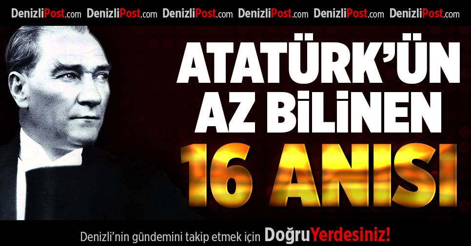 Atatürk'ün Tüylerinizi Diken Diken Edecek, Gururla Okuyacağınız, Az Bilinen 16 Anısı