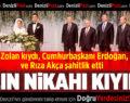 Yılın Nikahı Kıyıldı