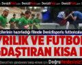 Ayrılık ve futbolu bağdaştıran kısa film