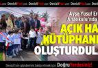 """""""OKUYAN ÇOCUKLAR, MUTLU NESİLLER"""" PROJESİ"""