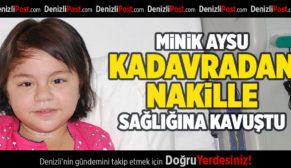 Minik Aysu, Kadavradan Nakille Sağlığına Kavuştu