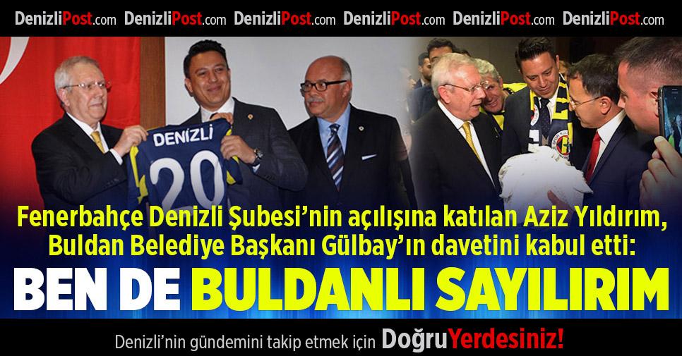 Aziz Yıldırım Fenerbahçe Denizli Şubesi'nin Açılışına Katıldı