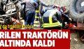 Babadağ'da Traktör Kazası