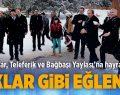 Teleferik ve Bağbaşı Yaylası Çifte Bakanı Ağırladı