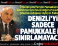 Kültürve Turizm Bakanı Ersoy Denizli'de Turizmcilerle Buluştu