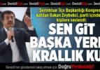 Bakan Zeybekci Parti İçindeki O Kişilere Böyle Seslendi: Sen Git Başka Yerlerde Krallık Kur