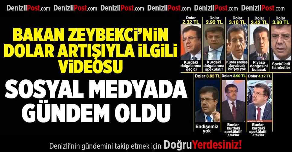 CHP'li Özkan'dan Dikkat Çeken Bakan Zeybekci Videosu