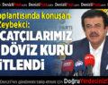 Zeybekci: İhracatçılarımız için döviz kuru sabitlendi