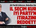 İl Seçim Kurulu İYİ Parti'nin İtirazını Reddetti