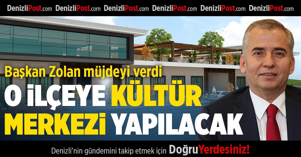 Büyükşehir'den Baklan'a kültür merkezi