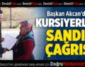 Başkan Akcan'dan Kursiyerlere Sandık Çağrısı