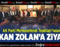 AK Parti Merkezefendi Teşkilatı'ndan Başkan Zolan'a ziyaret