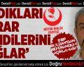 BBP Buldan'dan 'hayır' açıklaması