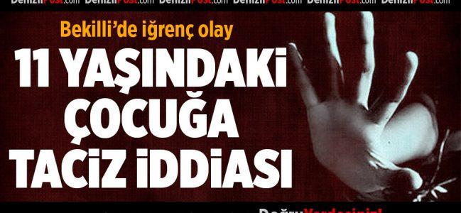 Bekilli'de 11 Yaşındaki Çocuğa Taciz İddiası