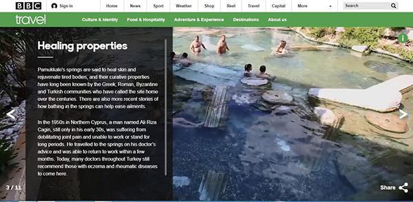 beyaz cennet pamukkale bbcde 2925 dhaphoto1 - Beyaz cennet Pamukkale BBC'de