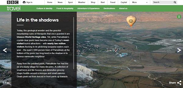 beyaz cennet pamukkale bbcde 2925 dhaphoto2 - Beyaz cennet Pamukkale BBC'de