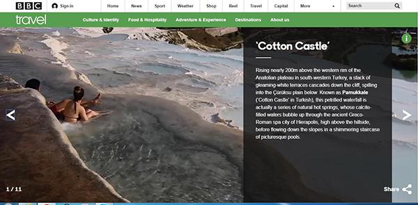 beyaz cennet pamukkale bbcde 2925 dhaphoto3 - Beyaz cennet Pamukkale BBC'de
