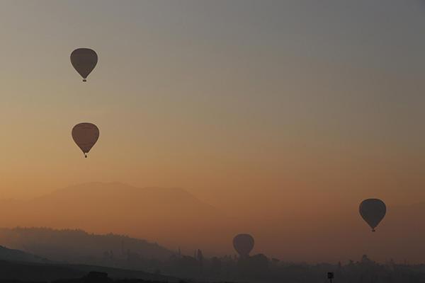 beyaz cennet pamukkalede balon ucusuna ilgi 2637 dhaphoto4 - 'Beyaz Cennet' Pamukkale'de balon uçuşuna ilgi