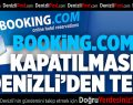 Booking.com'un kapatılmasına tepki