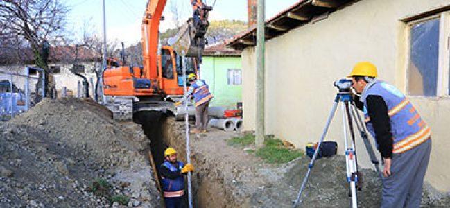 Bozkurt Avdan'da alt yapı atağı