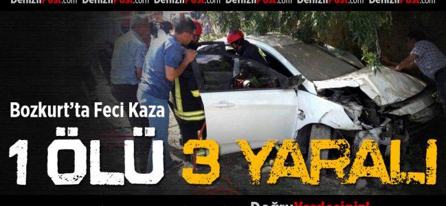 Bozkurt'ta Feci Kaza: 1 Yaralı
