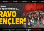 Pamukkale Üniversitesi Öğrencilerinden Alkışlanacak Hareket