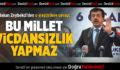 Bakan Zeybekci'den O Eleştirilere Cevap
