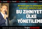 AK Partili Şahin Tin, Çakmak Mahallesi'nde vatandaşla buluştu, muhalefeti bombaladı: