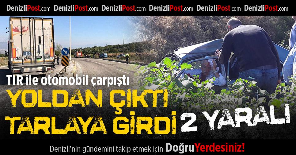 Buldan'da Kaza: 2 Yaralı