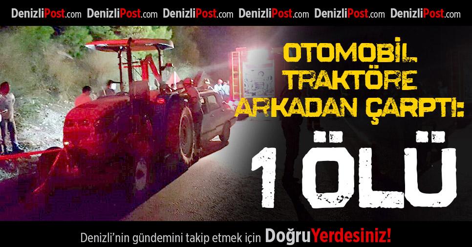 Buldan'da Feci Kaza: 1 Ölü